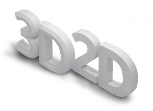 2D and 3D Custom Lettering
