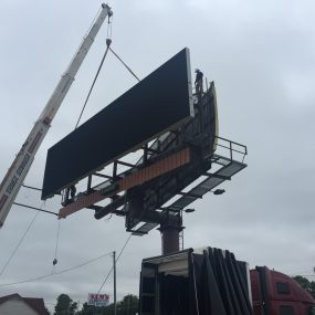 digital led billboard installation