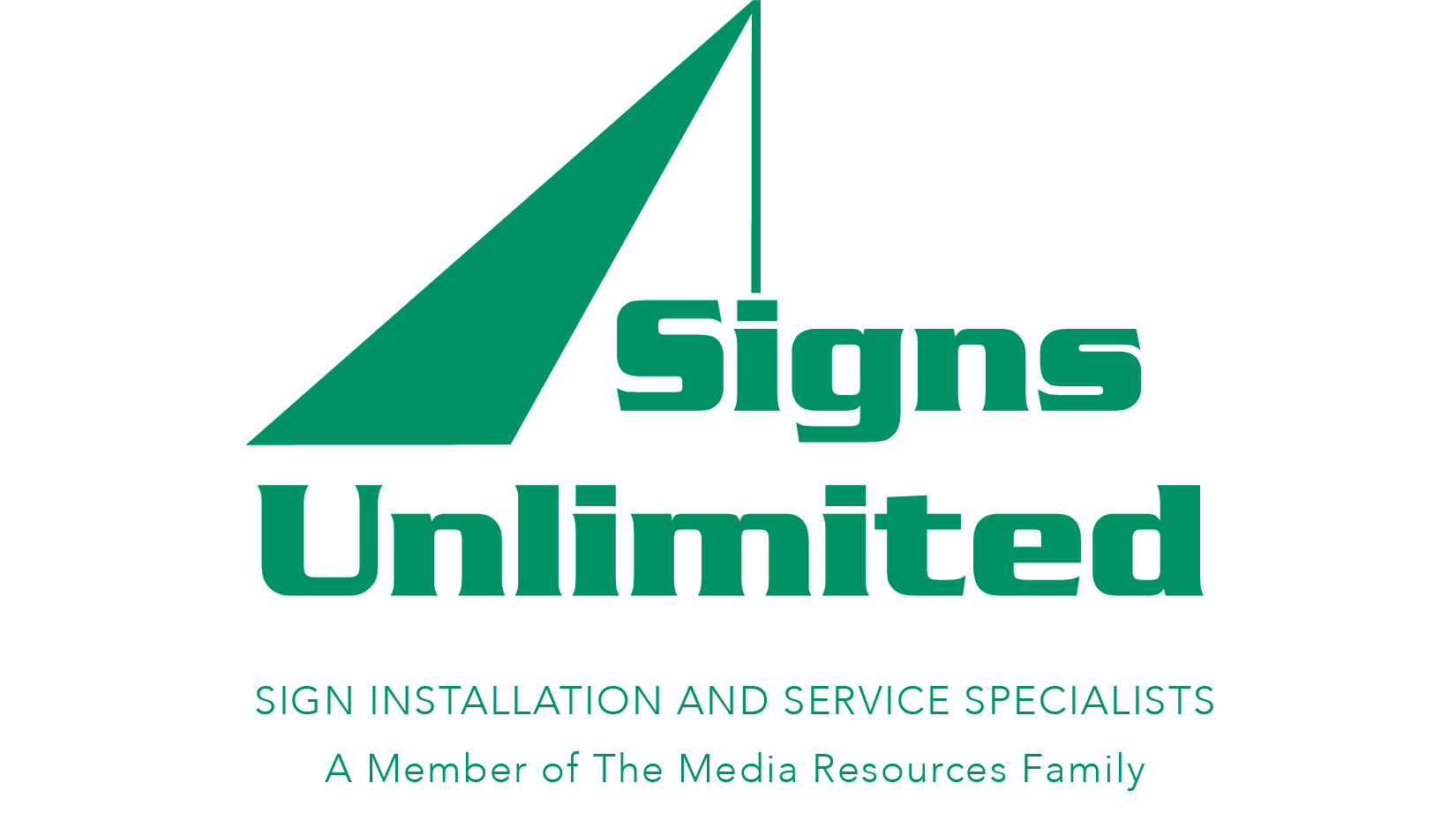 Signs Unlimited Logo, Sign Installation Specialists