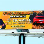 Media Resources 3D Printed Mustang and Large Format Print Billboard (2)
